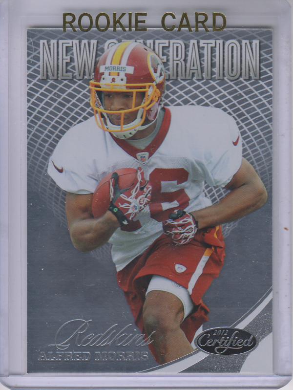 2012 Certified #251 Alfred Morris RC