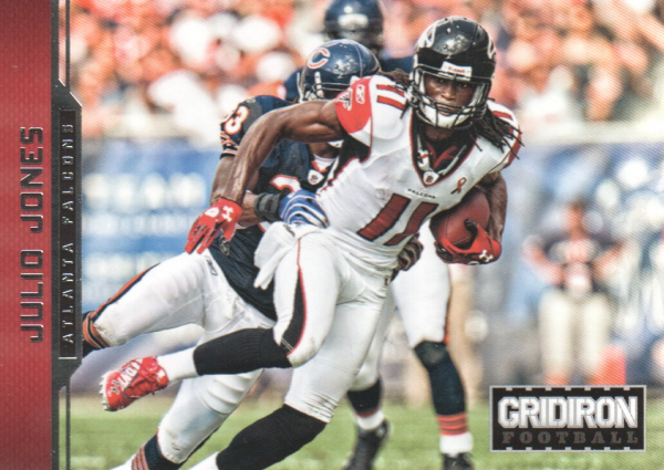 2012 Gridiron #8 Julio Jones