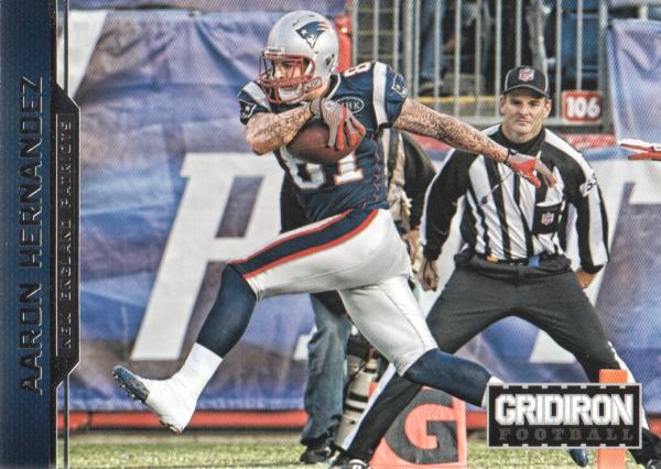 2012 Gridiron #111 Aaron Hernandez