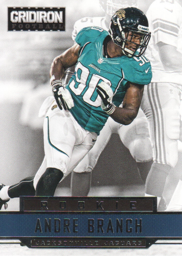 2012 Gridiron #203 Andre Branch RC