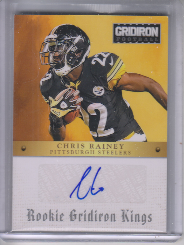 2012 Gridiron Rookie Gridiron Kings Autographs #20 Chris Rainey