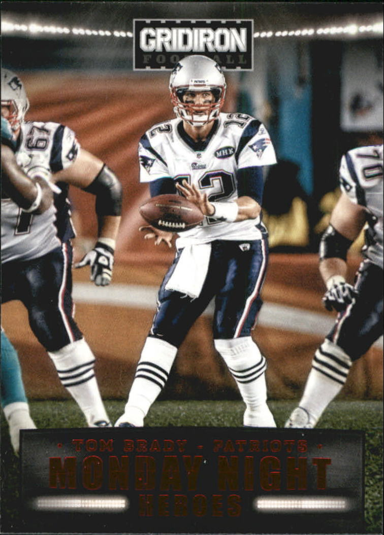 2012 Gridiron Monday Night Heroes #2 Tom Brady