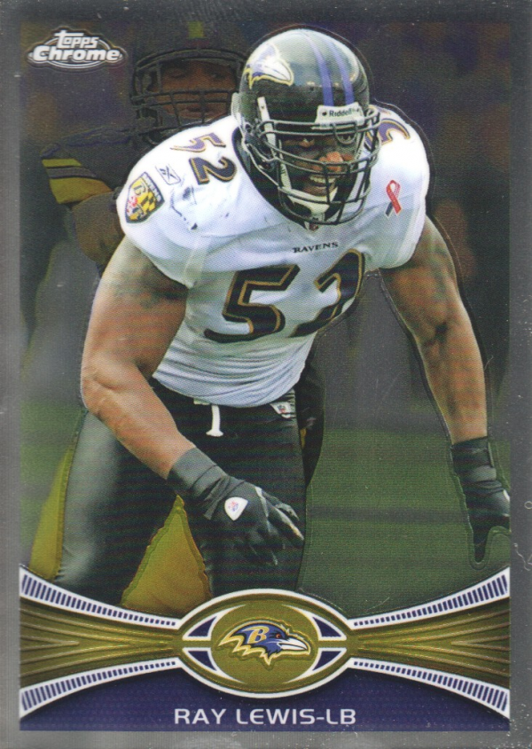 2012 Topps Chrome #121 Ray Lewis