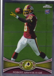 2012 Topps Chrome #200A Robert Griffin III RC/maroon jersey