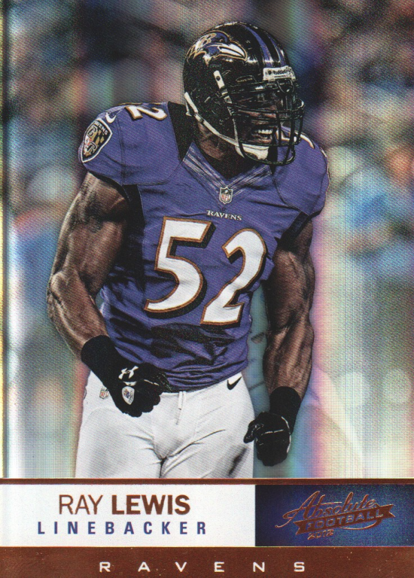 2012 Absolute #7 Ray Lewis