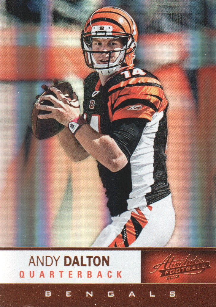2012 Absolute #8 Andy Dalton