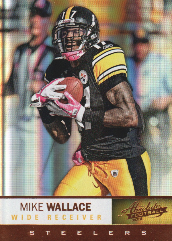 2012 Absolute #15 Mike Wallace