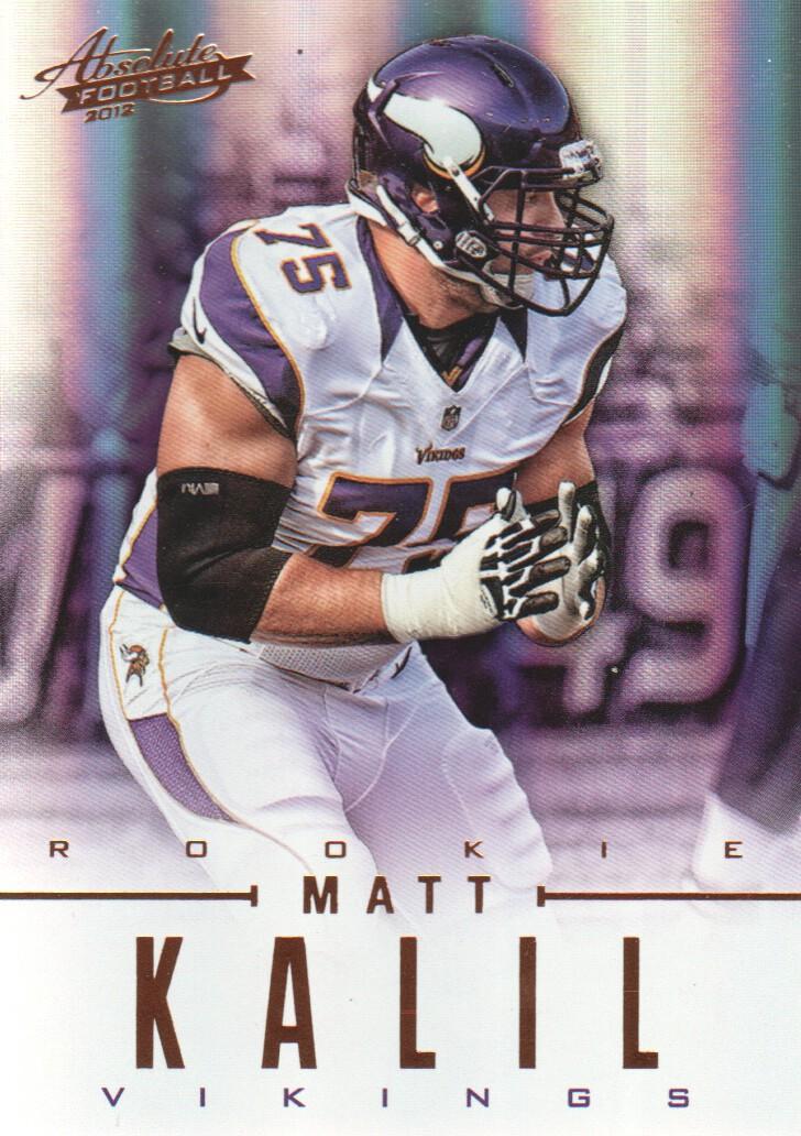 2012 Absolute #101 Matt Kalil RC