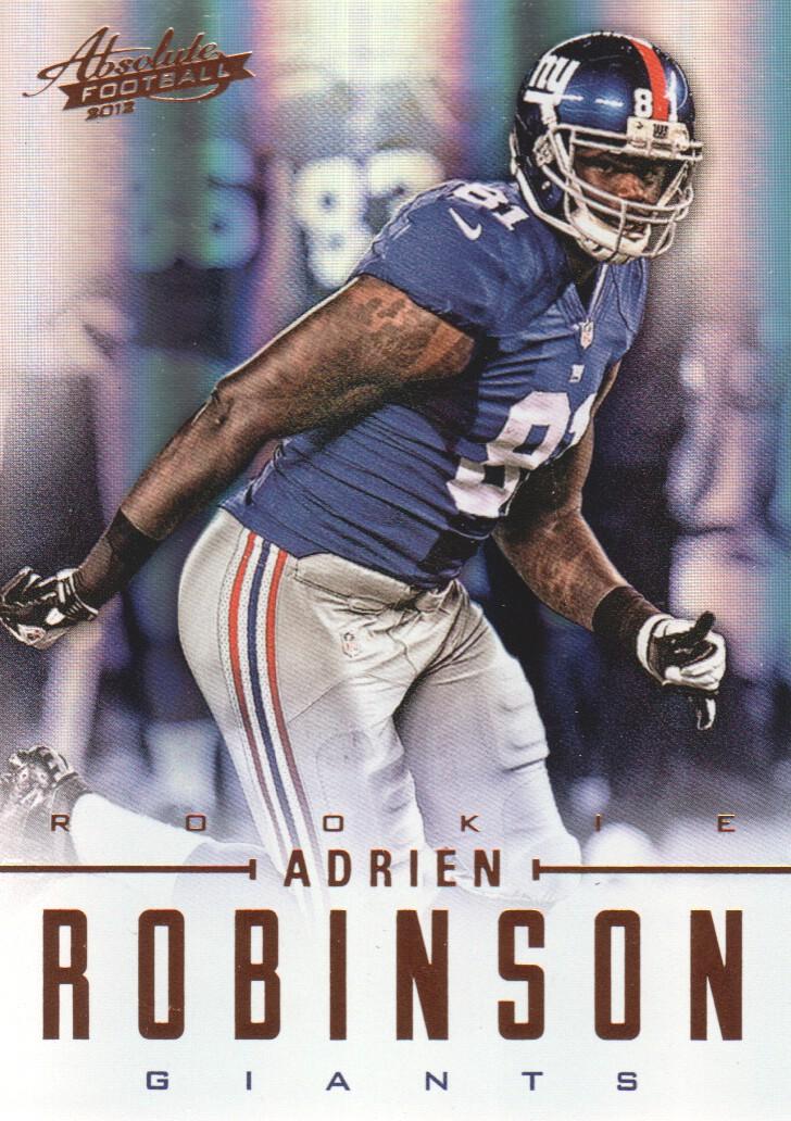 2012 Absolute #102 Adrien Robinson RC