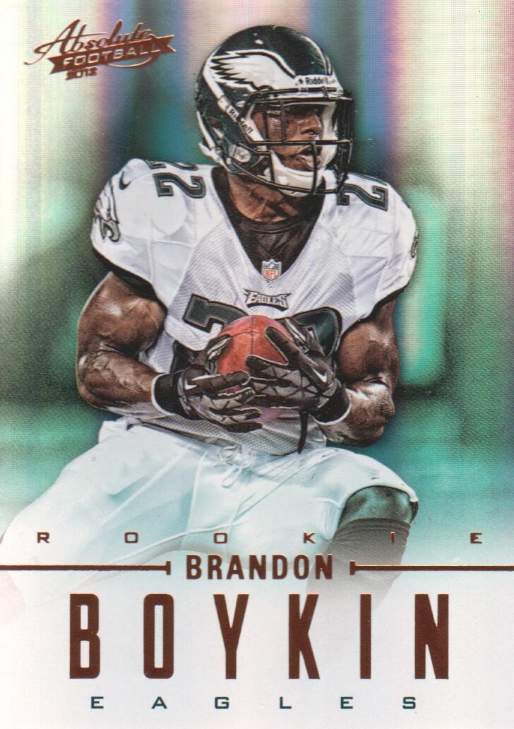 2012 Absolute #107 Brandon Boykin RC