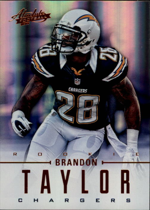 2012 Absolute #109 Brandon Taylor RC