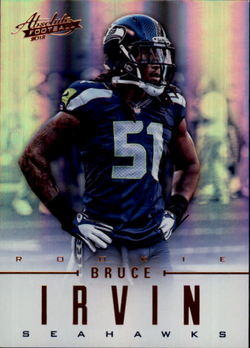 2012 Absolute #110 Bruce Irvin RC