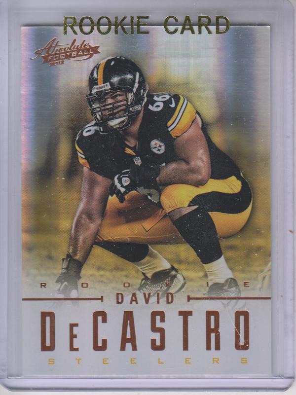 2012 Absolute #124 David DeCastro RC