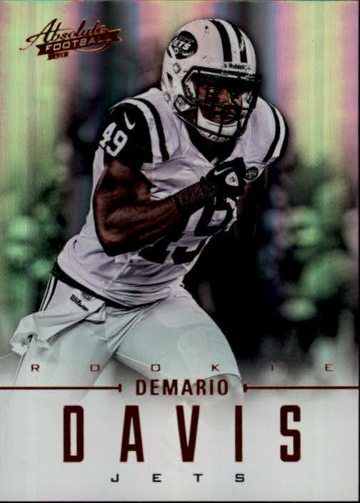 2012 Absolute #125 Demario Davis RC