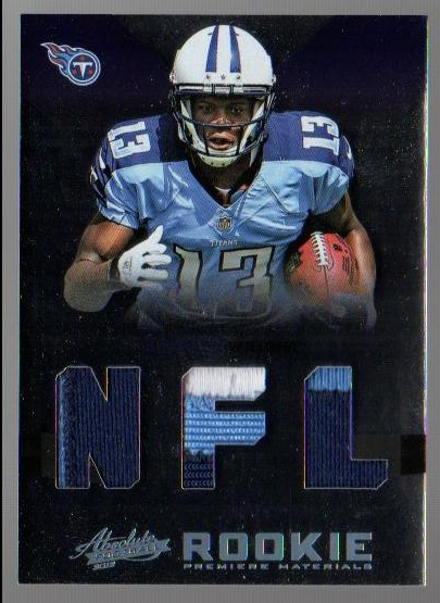 2012 Absolute Rookie Premiere Materials NFL Prime #218 Kendall Wright
