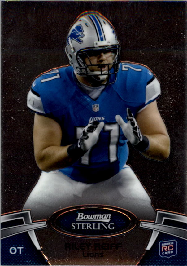 2012 Bowman Sterling #3 Riley Reiff RC