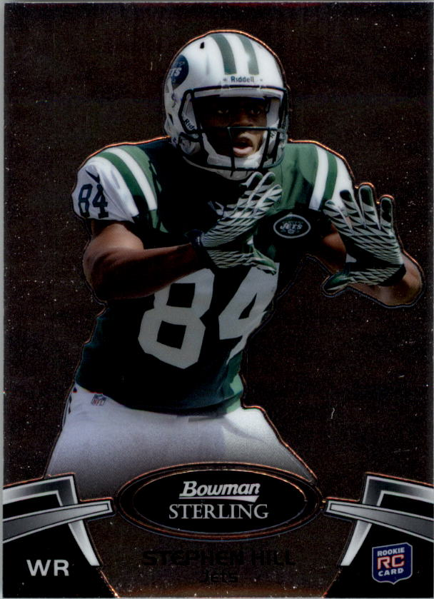 2012 Bowman Sterling #4 Stephen Hill RC