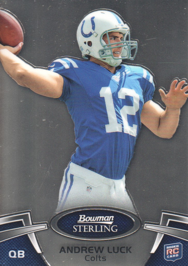 2012 Bowman Sterling #100 Andrew Luck RC