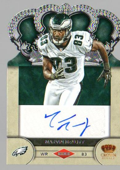 2012 Crown Royale Rookie Signatures #64 Marvin McNutt/245