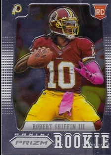 2012 Panini Prizm #227A Robert Griffin III RC/(set to pass)