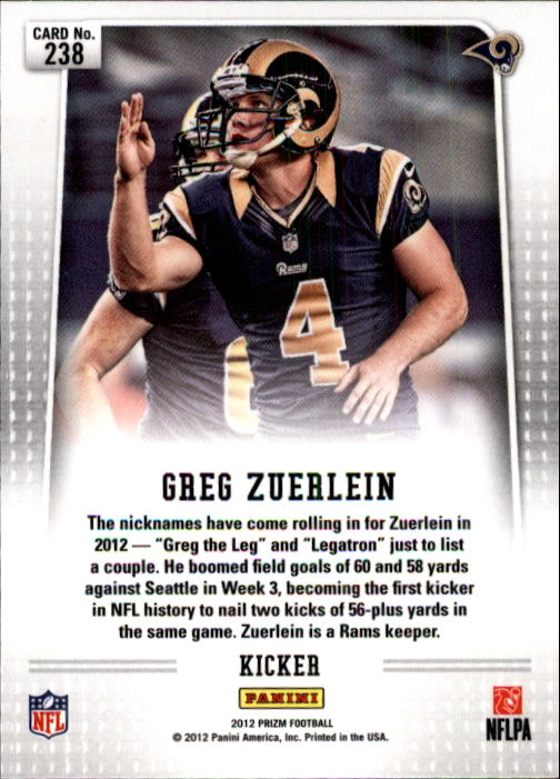 2012-Panini-Prizm-Football-238-300-Your-Choice-GOTBASEBALLCARDS thumbnail 3