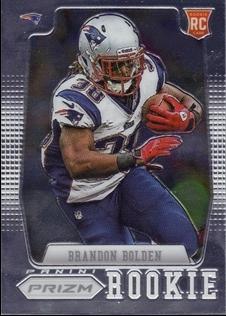 2012 Panini Prizm #240A Brandon Bolden RC