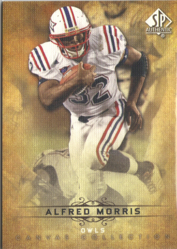 2012 SP Authentic Canvas Collection #CC17 Alfred Morris