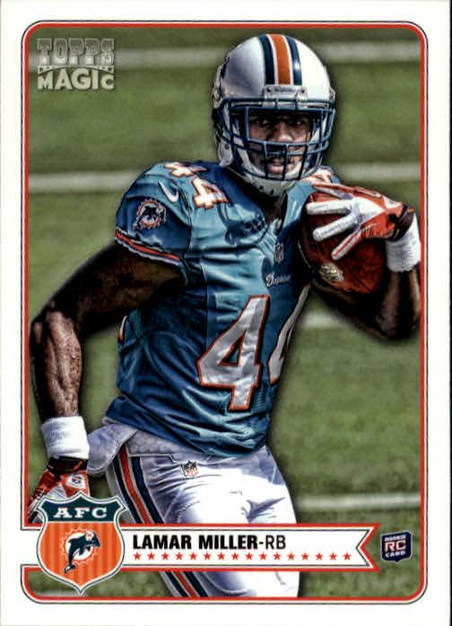 2012 Topps Magic #82 Lamar Miller RC