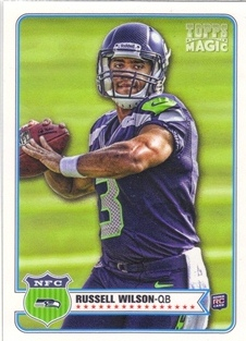 2012 Topps Magic #181 Russell Wilson RC