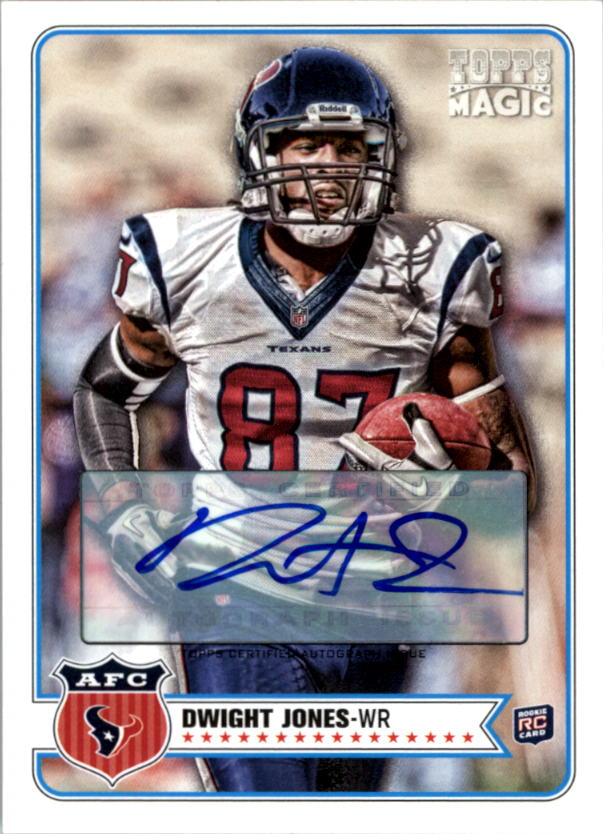2012 Topps Magic Autographs #19 Dwight Jones