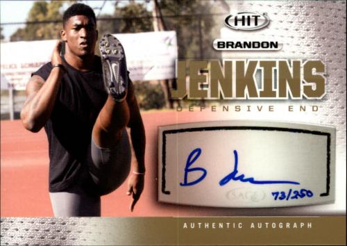 2013 SAGE HIT Autographs Gold #A135 Brandon Jenkins