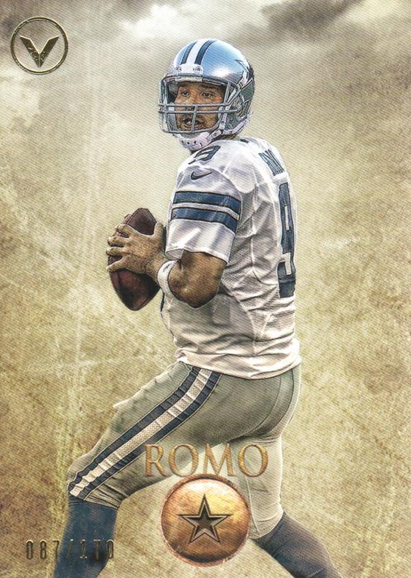 2012 Topps Valor #9 Tony Romo