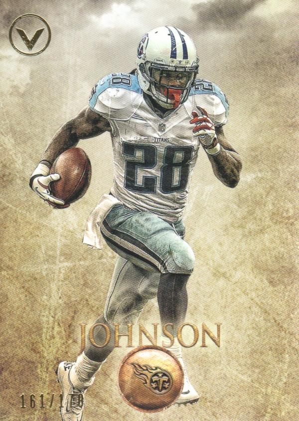 2012 Topps Valor #18 Chris Johnson