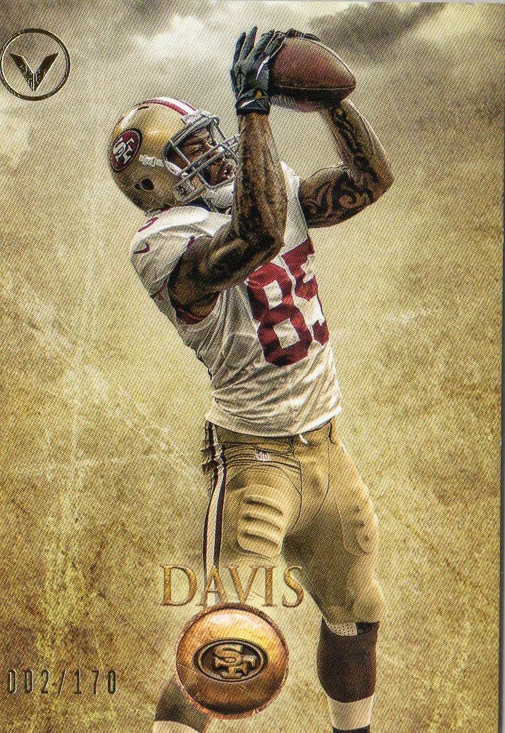 2012 Topps Valor #24 Vernon Davis