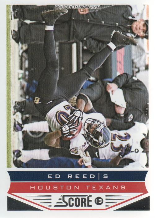 2013 Score #20 Ed Reed