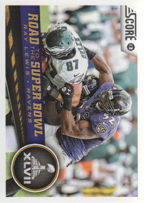 2013 Score #261 Ray Lewis RSB