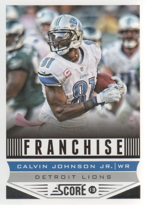 2013 Score #277 Calvin Johnson F