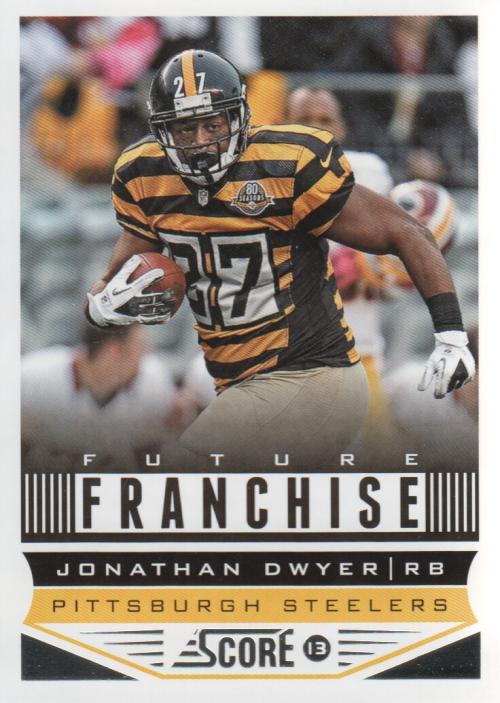 2013 Score #323 Jonathan Dwyer FF