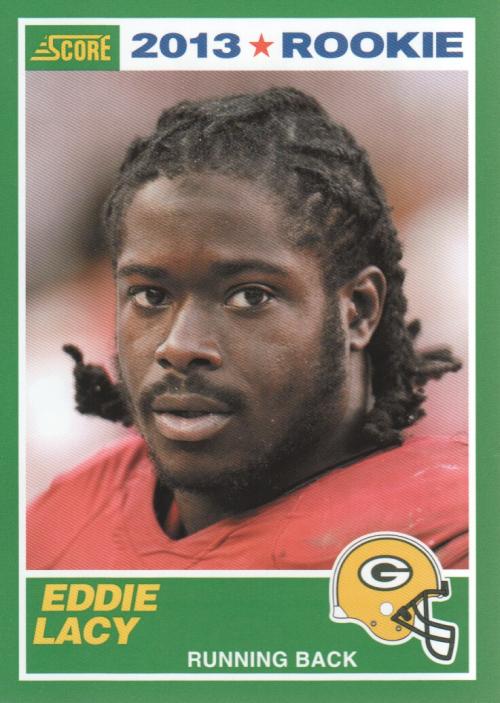 2013 Score #363 Eddie Lacy RC
