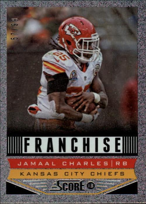2013 Score Showcase #282 Jamaal Charles F