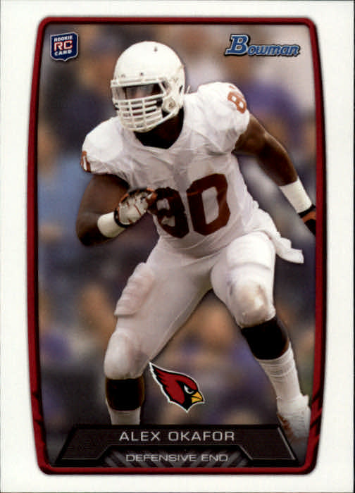2013 Bowman #160 Alex Okafor RC