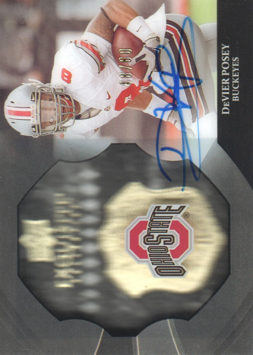 2012 Exquisite Collection Dimension Autographs #EBDP DeVier Posey