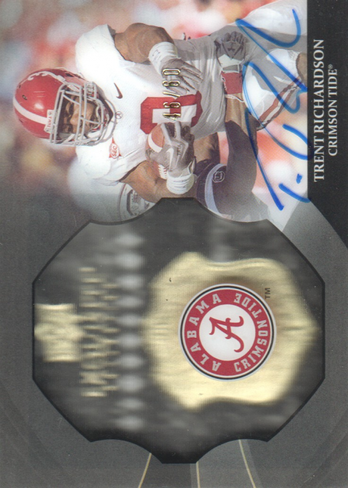 2012 Exquisite Collection Dimension Autographs #EBTR Trent Richardson