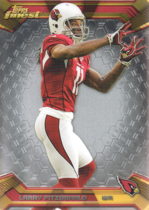 2013 Finest #5 Larry Fitzgerald
