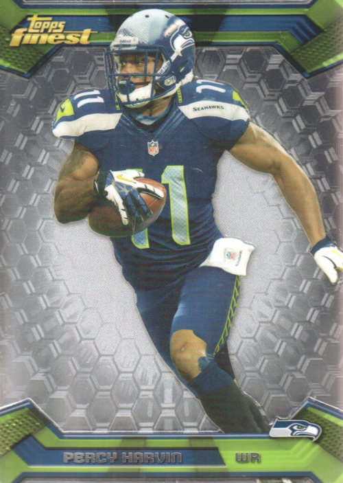 2013 Finest #18 Percy Harvin