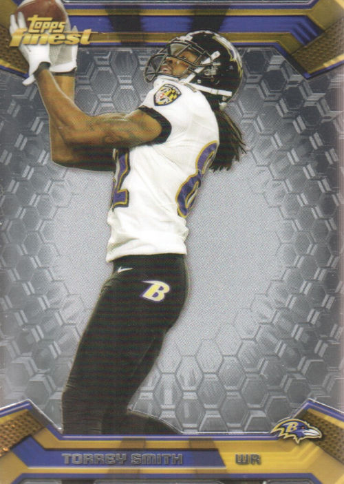 2013 Finest #21 Torrey Smith