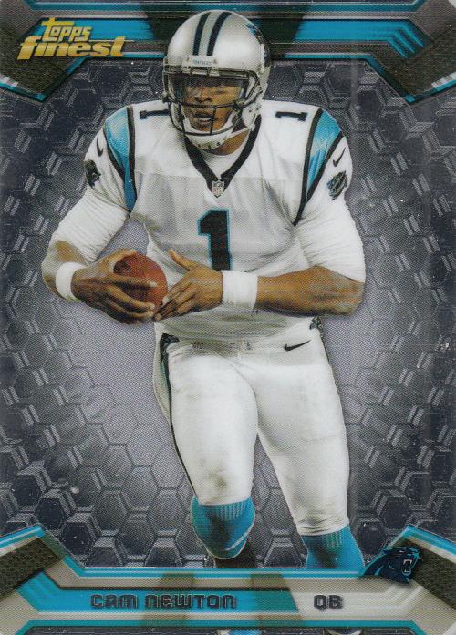 2013 Finest #25 Cam Newton
