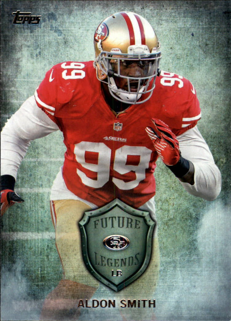 2013 Topps Future Legends #FLAS Aldon Smith