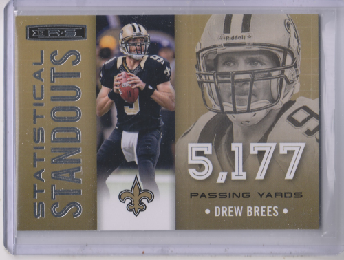2013 Rookies and Stars Statistical Standouts #1 Drew Brees