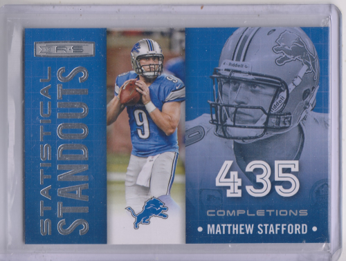 2013 Rookies and Stars Statistical Standouts #2 Matthew Stafford